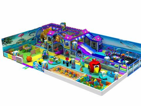 Kiddie Indoor Playground Equipment for Philippines