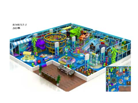 New Indoor Playground Equipment for Malaysia