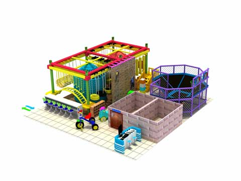 Kiddie Indoor Preschool Playground Equipment for Sale