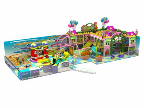 large Indoor Playground Equipment for Preschool