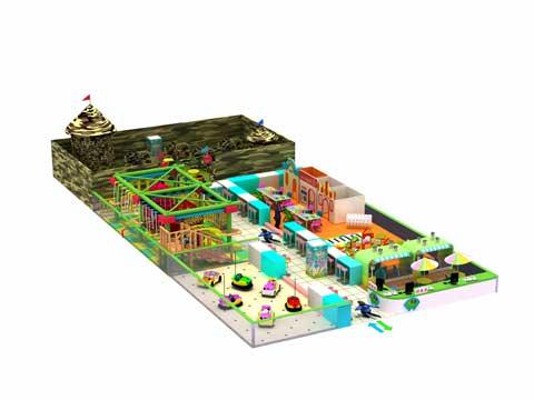 Large Size Indoor Preschool Playground Equipment for Sale