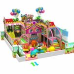 Candy Themed Indoor Playground Equipment
