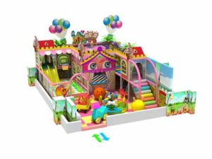 Kiddie Candy Themed Indoor Playground Equipment for Sale