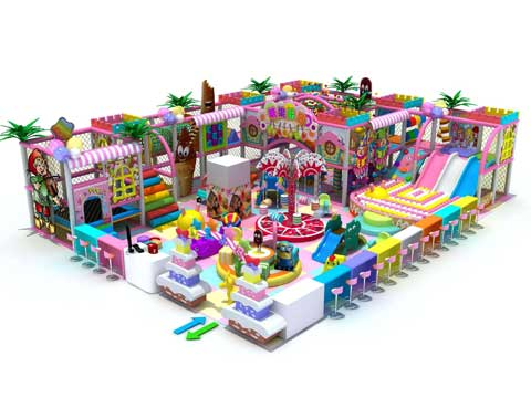 Lovely Candy Themed Indoor Playground Equipment for Sale