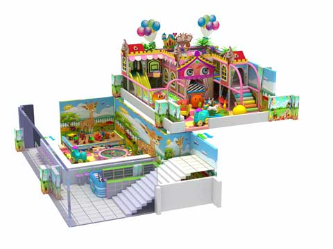 Beston Candy Themed Indoor Playground Equipment for Kids