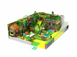 90 Square Meter Kids Indoor Playground Equipment