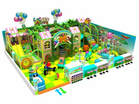 Kiddie Indoor Playground Equipment From Beston