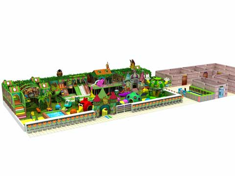 260 Square Meters Large Indoor Playground Equipment
