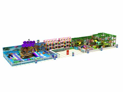 471 Square Meter Large Indoor Playground Equipment