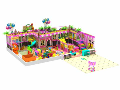 114 Square Meter Indoor Play Centre Equipment for Sale
