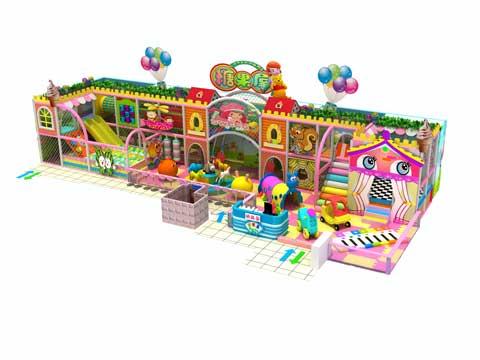 117 Square Meter Indoor Play Centre Equipment