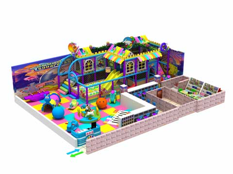 130 Square Meter Indoor Play Centre Equipment for Sale