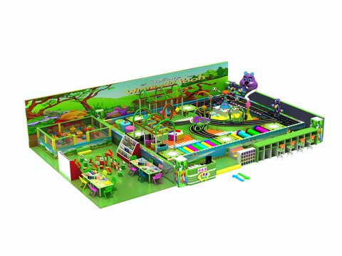 139 Square Meter Indoor Play Centre Equipment for Sale