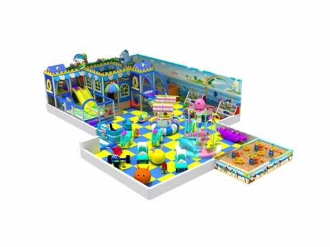 143 Square Meter Indoor Play Centre Equipment