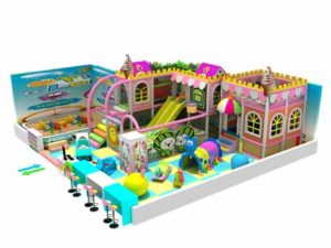 73 Square Meters Kiddie Kiddie Residential Indoor Playground Equipment for Sale