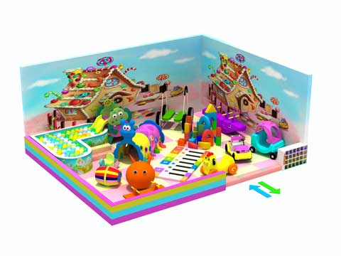 Residential Indoor Playground Equipment for Sale