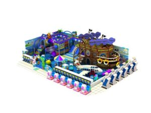 Pirate Ship Theme Indoor Playground Equipment