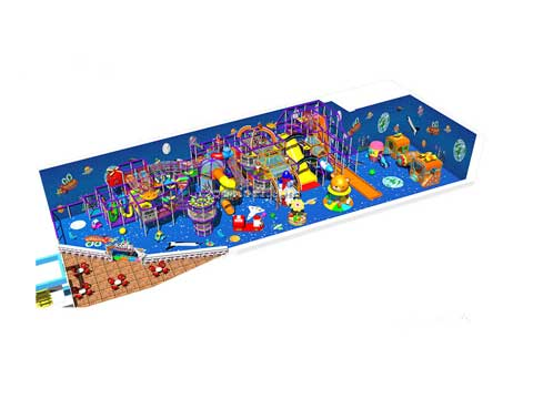 Space Themed Indoor Playground Equipment for Sale