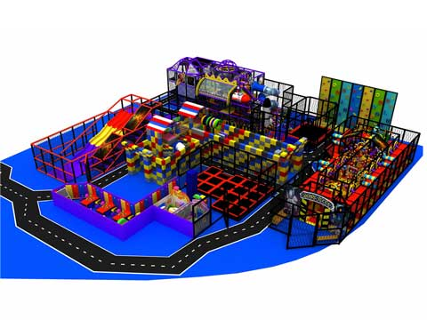 Space Themed Indoor Playground Equipment