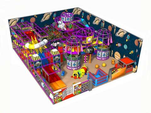Space Theme Indoor Playground Equipment for Sale