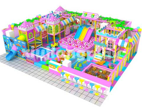 Candy Theme Indoor Playground Equipment You Can Buy