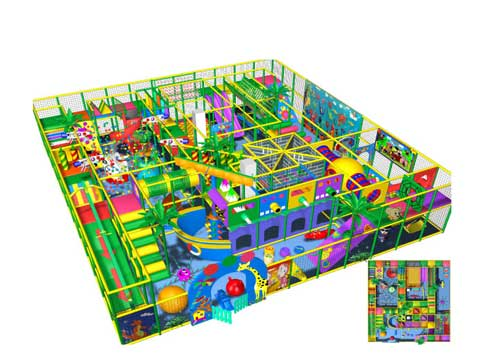 Indoor Playground Equipment from Beston