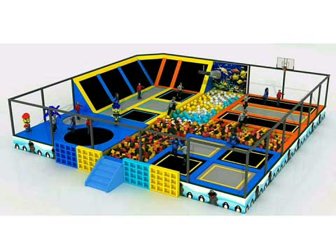 Beston Trampoline Park Business for Sale