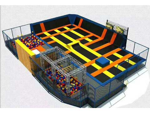 Large Trampoline Park Business for Sale