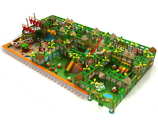 Forest Theme Indoor Soft Play Equipment for Sale