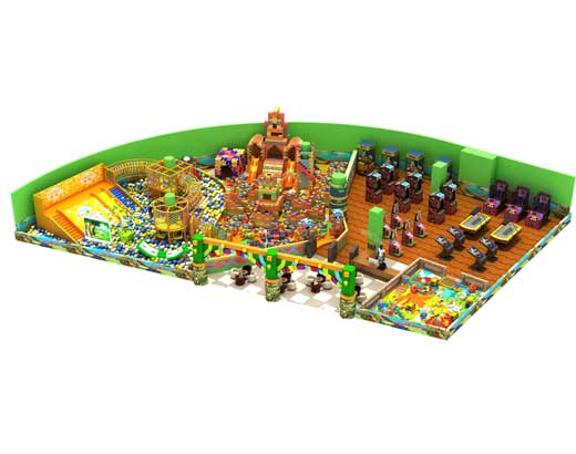 Kids Indoor Soft Play Equipment for Sale