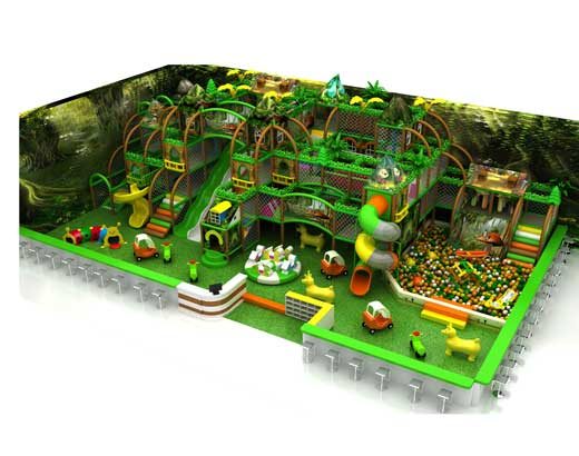 Forest Indoor Soft Play Equipment for Sale