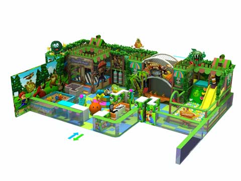 Kids Indoor Playground Equipment Materials