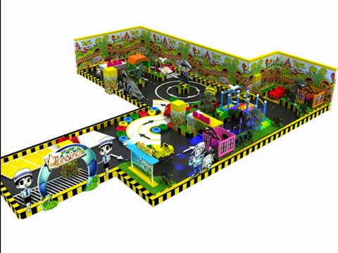 Kiddie Indoor Playground Equipment