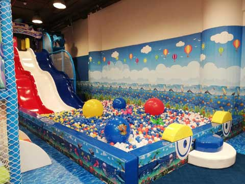 Beston New Indoor Playground for Pakistan