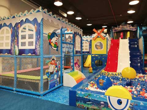 Indoor Playground Equipment In Karachi