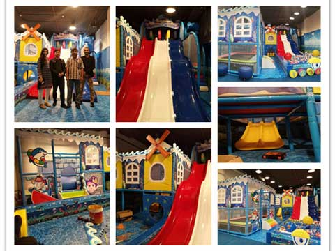 Indoor Playground for Pakistan