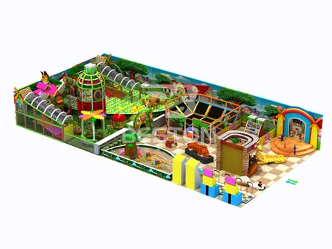 Materials of Kids Indoor Playground Equipment for Sale