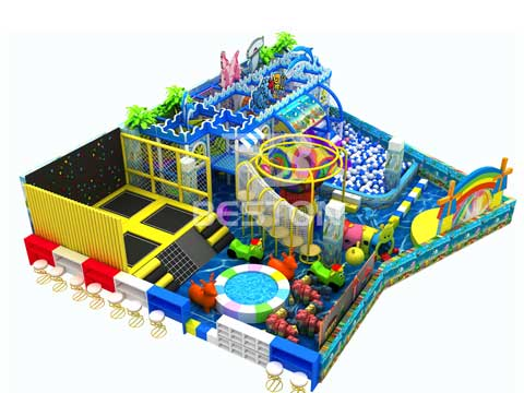 Commercial Indoor Playground Equipment for Russia