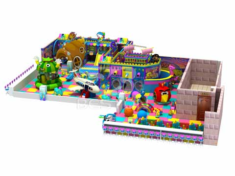 New Indoor Playground Equipment
