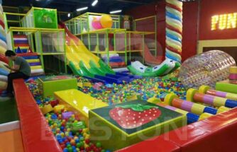 Beston Indoor Playground In Almaty, Kazakhstan