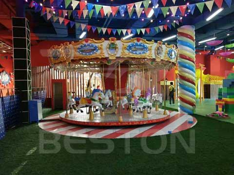 Carousel-Indoor Playground In Almaty, Kazakhstan