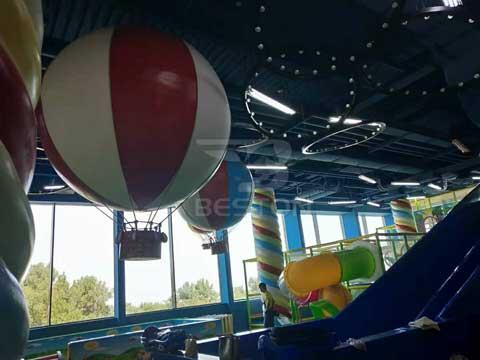 Details of Indoor Playground In Almaty, Kazakhstan