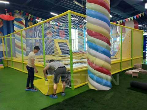 Kiddie Indoor Playground In Almaty, Kazakhstan