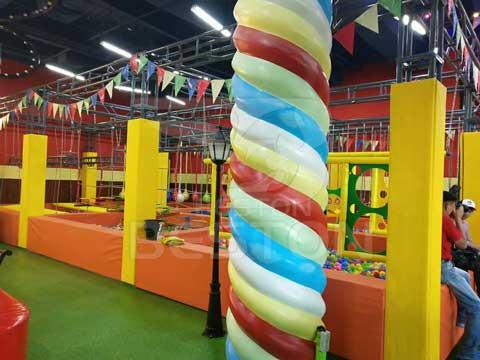 New Indoor Playground In Almaty, Kazakhstan