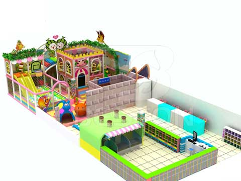 120 Square Meter Indoor Adventure Develoment Equipment for Sale