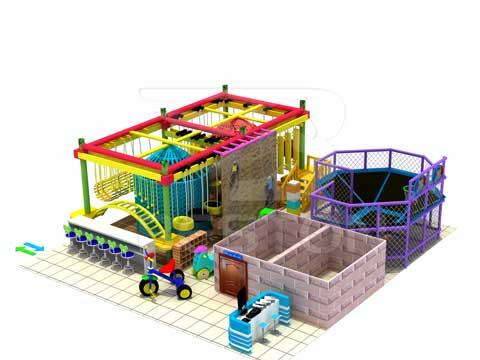 107 Square Meter Indoor Adventure Develoment Equipment