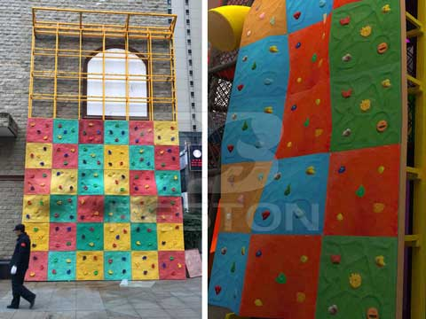 Two Different Types of Climbing Wall from Beston