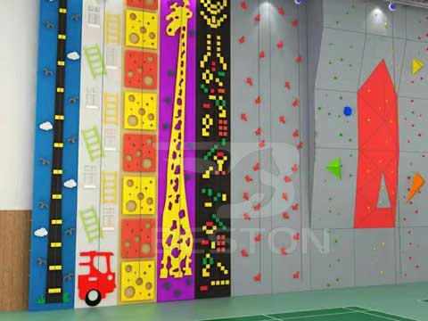 Rock Climbing Walls for Kids from Beston