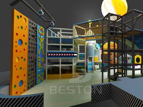 New Climbing Walls for Kids from Beston