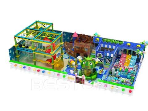 Jungle Theme Indoor Playground Equipment